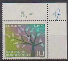 BRD 1962 MiNr.383  ** Postfr. Europa ( 6946 ) Günstige Versandkosten - BRD
