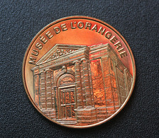 """Très Beau Jeton Médaille Touristique """"Musée De L'Orangerie - Musées Nationaux - Paris"""" Chateau Des Tuileries - Tourist"""