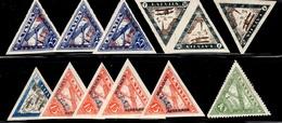 Lettonie Petite Collection De Poste Aérienne Neufs **/* 1931/1933. Bonnes Valeurs. B/TB. A Saisir! - Lettland