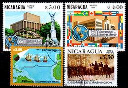 Nicaragua-0114 - Emissione Di P.A. 1981-1982 (o) Usati - Senza Difetti Occulti. - Nicaragua