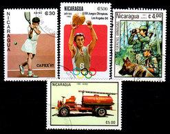 Nicaragua-0115 - Emissione Di P.A. 1983 (o) Usati - Senza Difetti Occulti. - Nicaragua