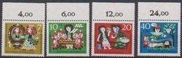 BRD 1962 MiNr.385 - 388  ** Postfr.Wohlfahrt: Märchen Der Brüder Grimm ( 6951 ) Günstige Versandkosten - BRD