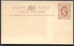 CAPE OF GOOD HOPE Postal Card #3 Mint Vf 1889 - Südafrika (...-1961)