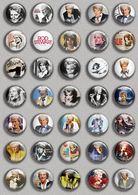 Rod Stewart Music Fan ART BADGE BUTTON PIN SET (1inch/25mm Diameter) 35 DIFF - Music