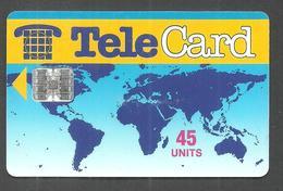 PAKISTAN USED CHIP PHONECARD TELECARD 45 UNITS - Pakistan