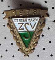 ZSV Steiermark 1978 Austria  Old Vintage Pin - Associations