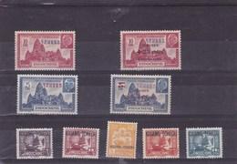 KOUANG TCHEOU : Y&T : Lot De 9 Timbres ** Et * - Kouang-Tchéou (1906-1945)