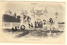 VIET-NAM / TONKIN - VILLAGE DU KINH-LUOC (temple) - Viêt-Nam