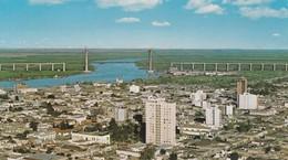 ZARATE, BS AS. BRAZO LARGOE RIOS. COLOR POST CARD. GRAFICA SA. ARGENTINA.- BLEUP - Argentina