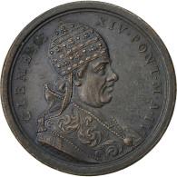 Italie, Médaille, Etats Pontificaux, Clément XIV, SUP, Bronze - Other