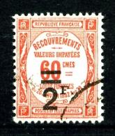 Taxe  54 - 2F Sur 60c Rouge - Oblitéré - Très Beau - Impuestos