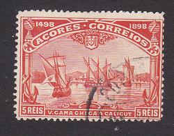Azores, Scott #94, Used, Vasco De Gama, Issued 1898 - Azoren
