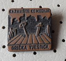 Theater Grickly Witch Kazaliste Komedija Gricka Vestica Croatia Ex Yugoslavia Pin - Administrations
