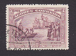 Azores, Scott #95, Used, Vasco De Gama, Issued 1898 - Azoren