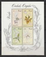 Venda 1981, Orchids S/s Mnh - Venda
