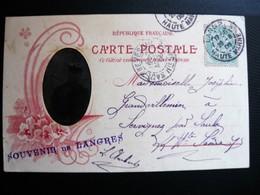 52 Haute Marne SOUVENIR DE LANGRES - Photo En Médaillon - Militaire 1908 - Langres