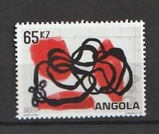 Angola 2007 The 52nd Anniversary Of The Art Biennial Of Venice 1v Mnh - Angola