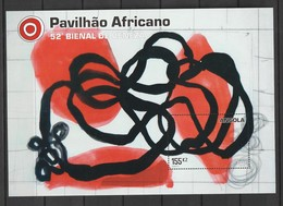 Angola 2007 The 53rd Anniversary Of The Art Biennial Of Venice S/s Mnh - Angola
