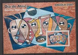 Angola 2007 Day Of Africa S/s Mnh - Angola