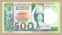 Madagascar 500 Francs = 100 Ariary ND(1974 - 75)  P64  UNC - Madagascar