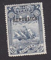 Azores, Scott #144, Mint Hinged, Vasco De Gama Overprinted, Issued 1911 - Açores