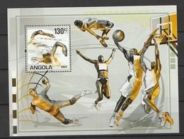 Angola 2007 Olympic Games 2008 - Beijing, China S/s Mnh - Angola