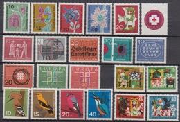 BRD 1963 MiNr.390 - 411 ** Postfr.Jahrgang 1963   ( 6957 ) Günstige Versandkosten ( - BRD