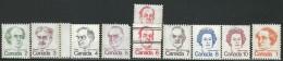 CANADA 1972 SCOTT/UNITRADE 587-593A** - 1952-.... Elizabeth II