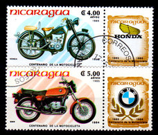 Nicaragua-0116 - Emissione Di P.A. 1985 (o) Usati - Senza Difetti Occulti. - Nicaragua
