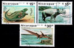 Nicaragua-0117 - Emissione Di P.A. 1987 (o) Usati - Senza Difetti Occulti. - Nicaragua
