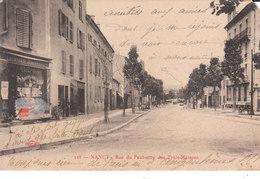 CPA NANCY (54) RUE DU FAUBOURG DES TROIS-MAISONS - Nancy