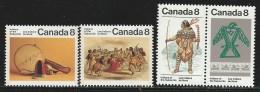 CANADA 1975 SCOTT/UNITRADE 574-575** SE-TENANT - 1952-.... Elizabeth II