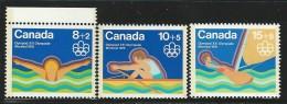 CANADA 1975 SCOTT/UNITRADE B4-B6** - Unused Stamps