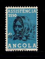! ! Angola - 1955 Postal Tax 2$50 - Af. ---- - MH - Angola