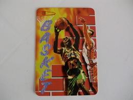 Sports Basketball Basquetebol Portugal Portuguese Pocket Calendar 1998 - Calendars