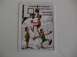 Sports Basketball Basquetebol Portugal Portuguese Pocket Calendar 1995 - Calendars