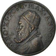 Italie, Médaille, Etats Pontificaux, Léon XI, 1605, SUP, Bronze - Other