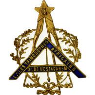 Algeria, Médaille, Masonic, Loge Des Trimosophes Africains, Orient De - Other