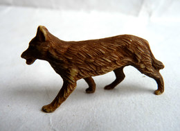 SOLDAT FIGURINE MARQUE INCONNUE - ZOO LOUP - Unclassified
