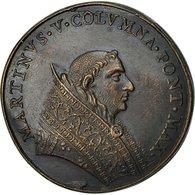 Italie, Médaille, Etats Pontificaux, Martinus V, 1567, SUP+, Bronze - Other