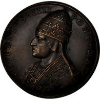 Italie, Médaille, Etats Pontificaux, Eugène IV, SUP, Bronze - Italie