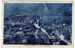 CASTEL VERRES - PANORAMA - AOSTA - 1951 - Vedi Retro - Formato Piccolo - Aosta
