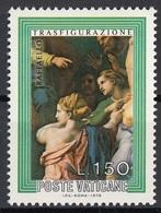 """Vaticano 1976 Blf. 602 """"Trasfigurazione (Dettaglio : Parenti Dell'ossesso) """"Quadro Dipinto Raffaello MNH Paintings - Religione"""