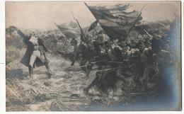 Bataille Jemmapes 6/11/1792 Peinture Par Raymond Desvarreux Né à Pau . 19 Eme Regiment Flandre Autriche - Belgique