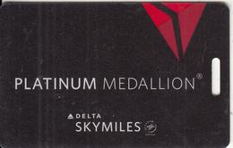 USA - DELTA Skymiles Platinum Medallion Card - Vliegtuigen