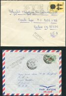 1964-84 Algeria - USA X 4 Covers - Algeria (1962-...)