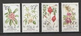SWA 1990 Flowers 4v Mnh - Namibia (1990- ...)