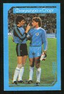 Russia USSR 1991 Football, World Soccer Stars: Goalkeepers Rinat Dasaev And Tony Schumacher - Calendars