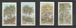 Ciskei 1984 Fauna - Trees 4v Mnh - Ciskei