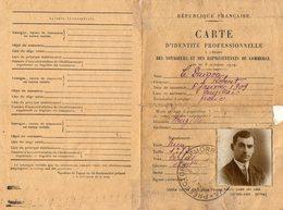VP12.449 - VANNES 1932 - Police - Préfecture Du Morbihan - Carte D'Identité Professionnelle - Mr LE DUIGOU à MUZILLAC - Police & Gendarmerie